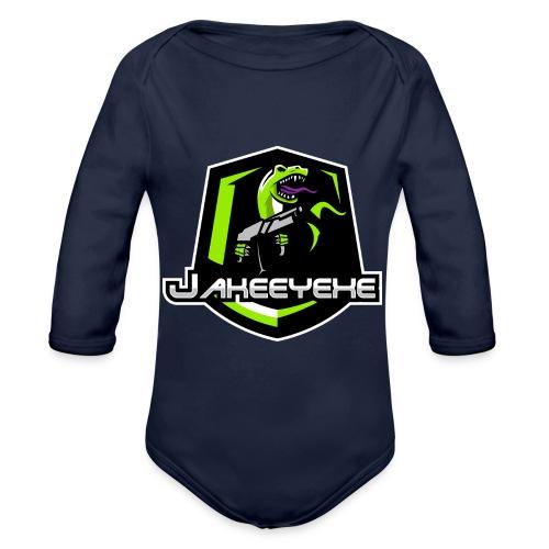 JakeeYeXe Badge - Organic Longsleeve Baby Bodysuit