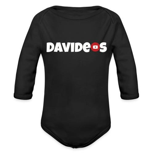 Kleding Davideos - Baby bio-rompertje met lange mouwen