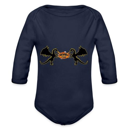 Styler Draken Design - Baby bio-rompertje met lange mouwen