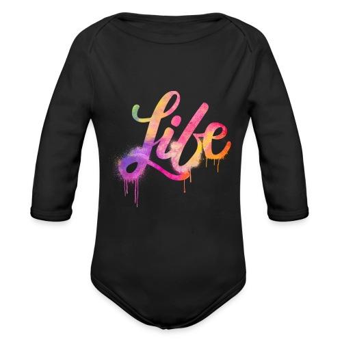 life - Body ecologico per neonato a manica lunga