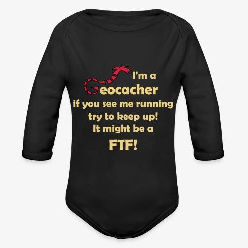 FTF-Jäger - Baby Bio-Langarm-Body