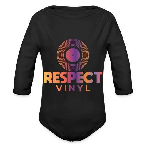 Disco Sisco • Respect Vinyl - Baby Bio-Langarm-Body