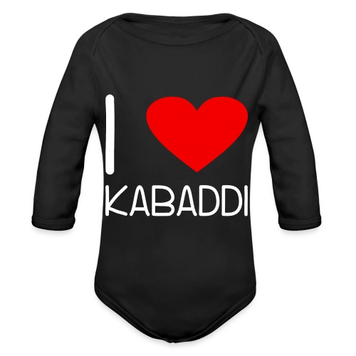 Kabaddi Kabadi Sportart India Südasien Shirt Gesch - Baby Bio-Langarm-Body