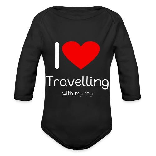 Spielzeug Reisen ToyVoyaging Shirt Geschenk - Baby Bio-Langarm-Body