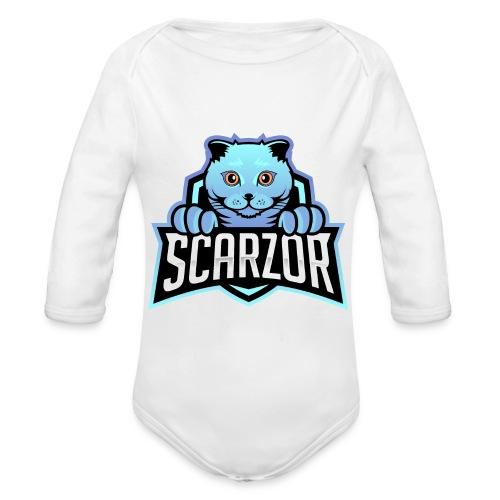 Scarzor Merchandise - Baby bio-rompertje met lange mouwen