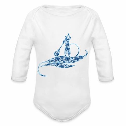 Blue Ocean - Body Bébé bio manches longues