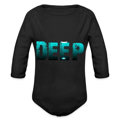 Deep In the Night - Body ecologico per neonato a manica lunga