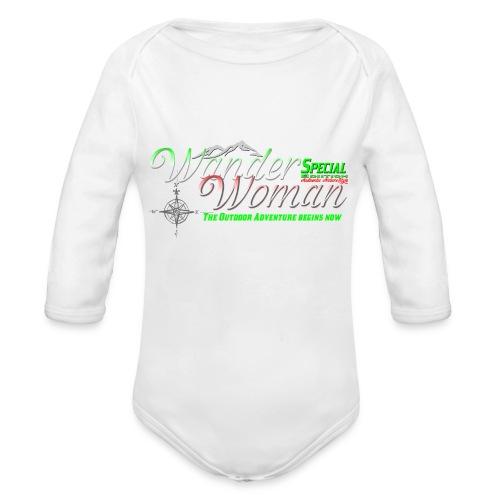 Special Edition Wander Woman Wandern Geschenk - Baby Bio-Langarm-Body
