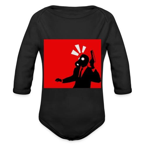 Gasmask - Organic Longsleeve Baby Bodysuit