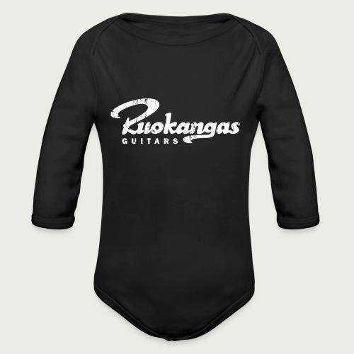 RuokangasGuitars white - Organic Longsleeve Baby Bodysuit