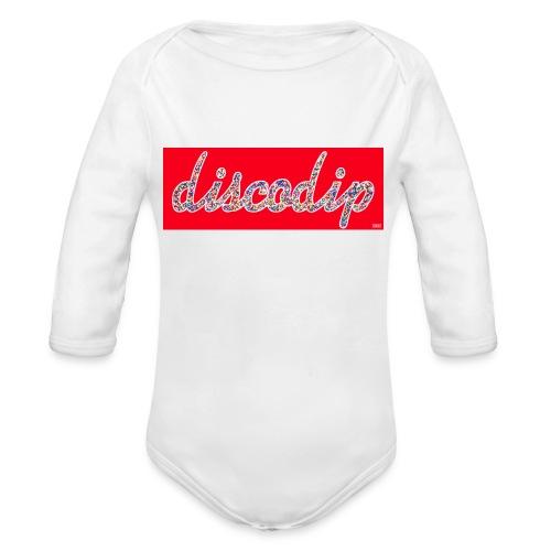 DISCODIP - Baby bio-rompertje met lange mouwen