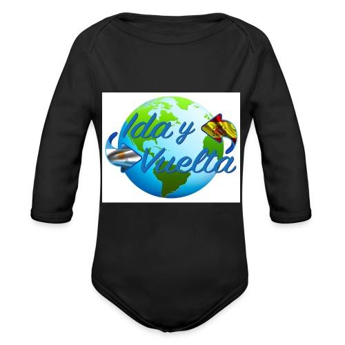 Ida y Vuelta-jpeg - Body orgánico de manga larga para bebé