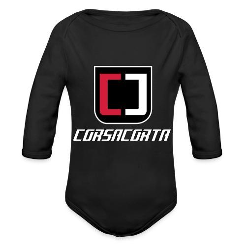 Premium - Corsacorta - Body ecologico per neonato a manica lunga