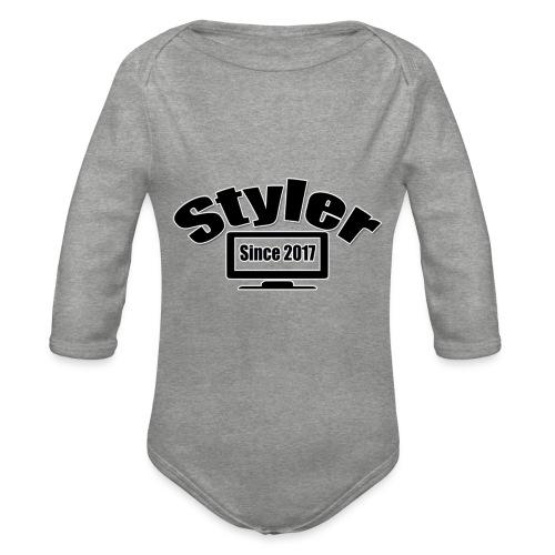 Styler Designer - Baby bio-rompertje met lange mouwen