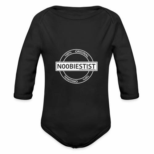 NOOBIEST - Organic Longsleeve Baby Bodysuit