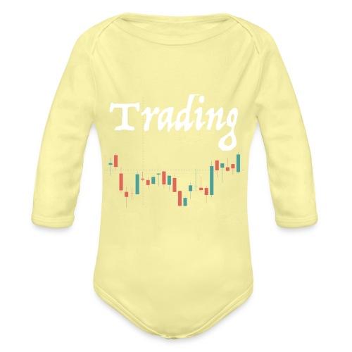 Trading lovers T-shirt - Body ecologico per neonato a manica lunga