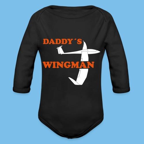 Segelflieger Nachwuchs Baby Segelflugzeug Geschenk - Baby Bio-Langarm-Body