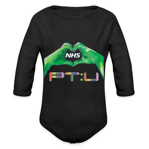 PT:U x NHS - Organic Longsleeve Baby Bodysuit