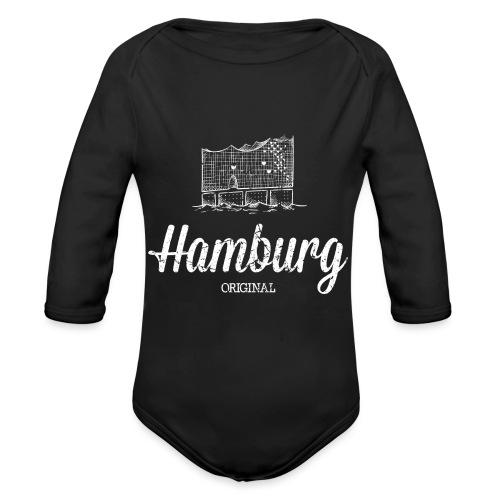 Hamburg Original Elbphilharmonie - Baby Bio-Langarm-Body