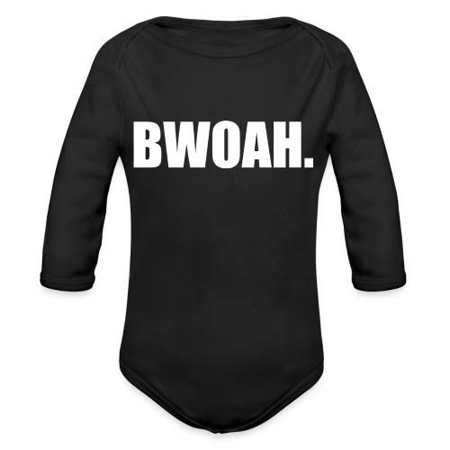 Bwoah - Vauvan pitkähihainen luomu-body