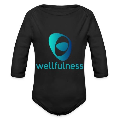 Wellfulness Sport Clasic - Body orgánico de manga larga para bebé