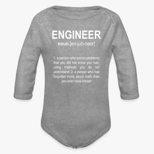 Engineer Def. 2 - Body Bébé bio manches longues