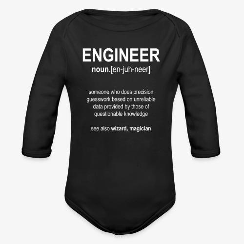 Engineer Def. 01 - Body Bébé bio manches longues