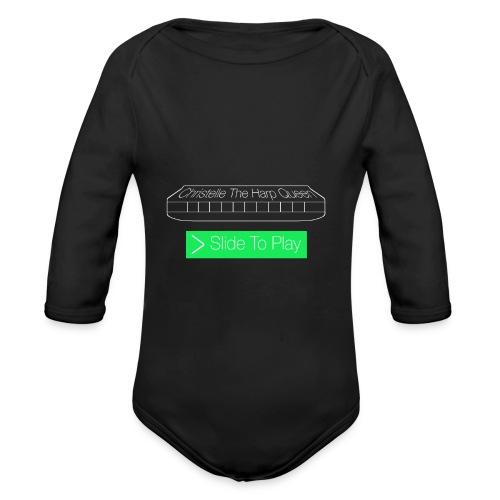 The Harp Queen T Shirt for men - Organic Longsleeve Baby Bodysuit
