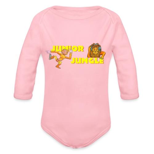 T-charax-logo - Organic Longsleeve Baby Bodysuit