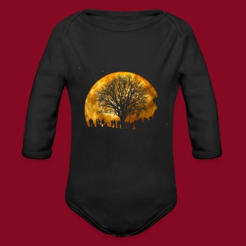 The Moon - Body ecologico per neonato a manica lunga