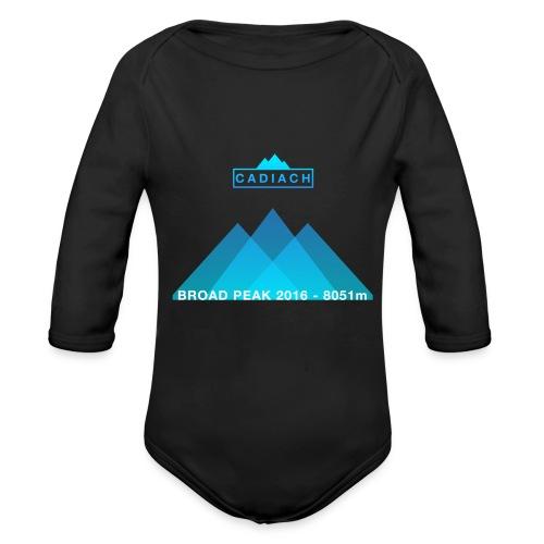 Cadiach Broad Peak 2016 - Hombre - Body orgánico de manga larga para bebé