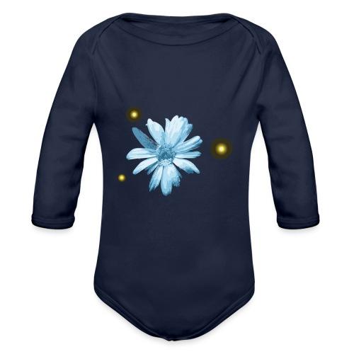 Flower - Body ecologico per neonato a manica lunga