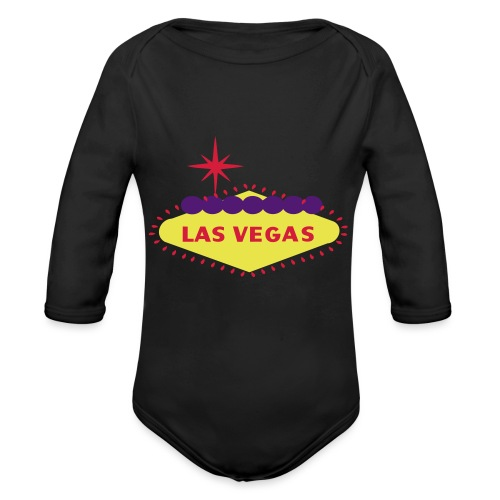 create your own LAS VEGAS products - Organic Longsleeve Baby Bodysuit
