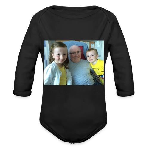 Me Papa Lewis - Organic Longsleeve Baby Bodysuit