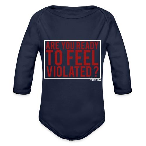 VIOLATED. - Organic Longsleeve Baby Bodysuit