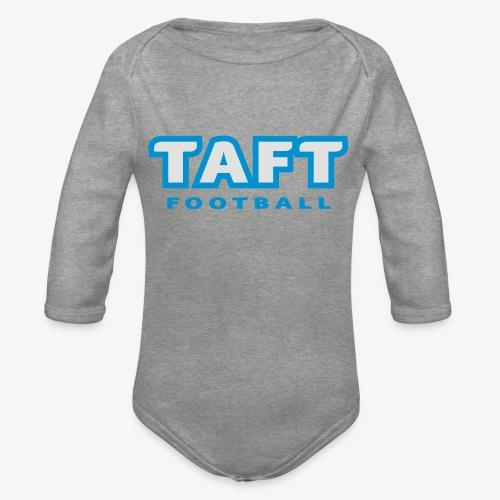 4769739 124019410 TAFT Football orig - Vauvan pitkähihainen luomu-body