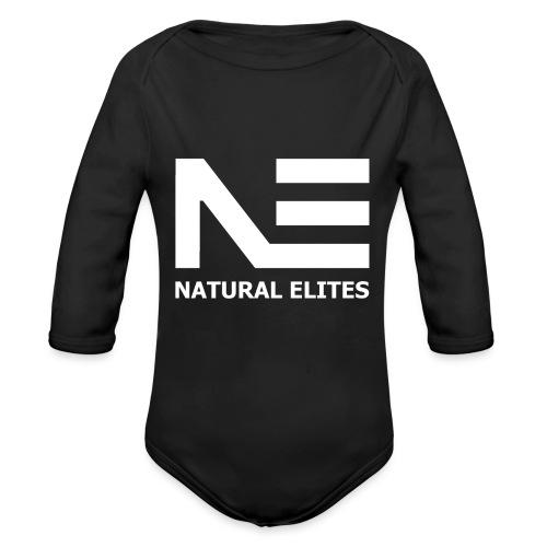 Natural Elites - Baby bio-rompertje met lange mouwen
