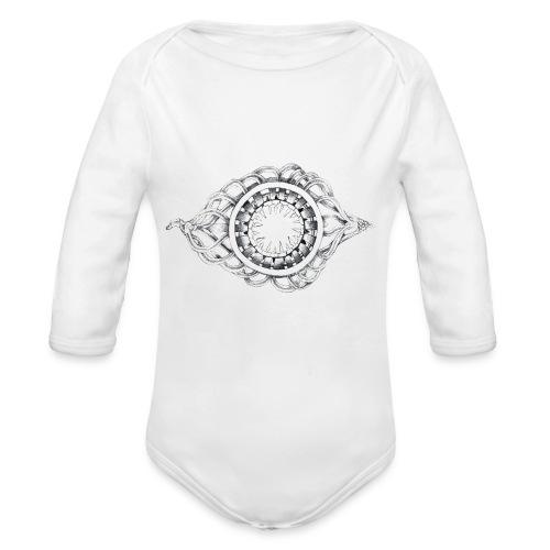 okulus - Body ecologico per neonato a manica lunga