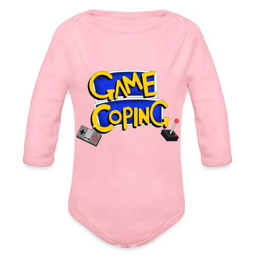 Game Coping Logo - Organic Longsleeve Baby Bodysuit