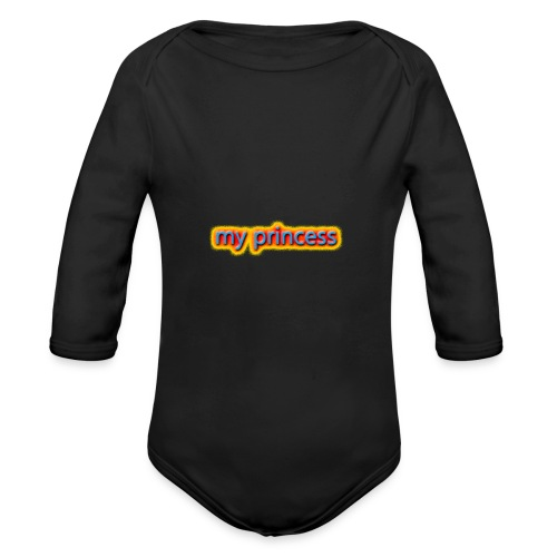 my peincess - Organic Longsleeve Baby Bodysuit