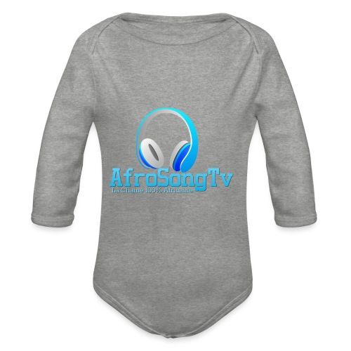 logo - Body orgánico de manga larga para bebé