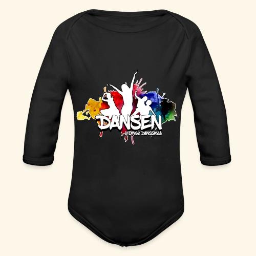 Dansen ColorSplash - Ekologisk långärmad babybody
