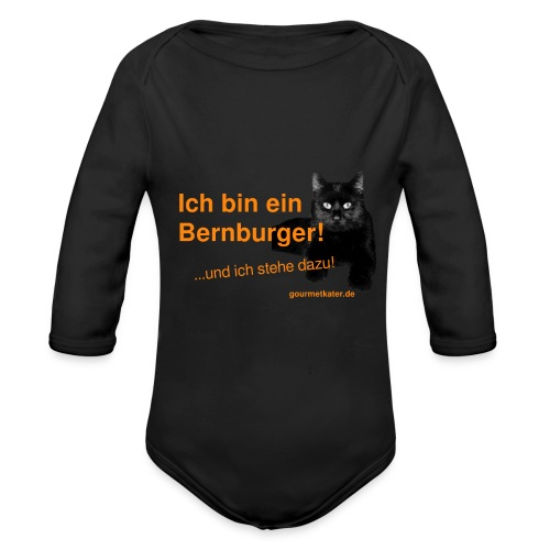 Statement Bernburg - Baby Bio-Langarm-Body