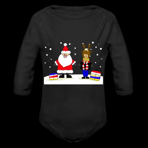 Christmas Collection - Økologisk langermet baby-body