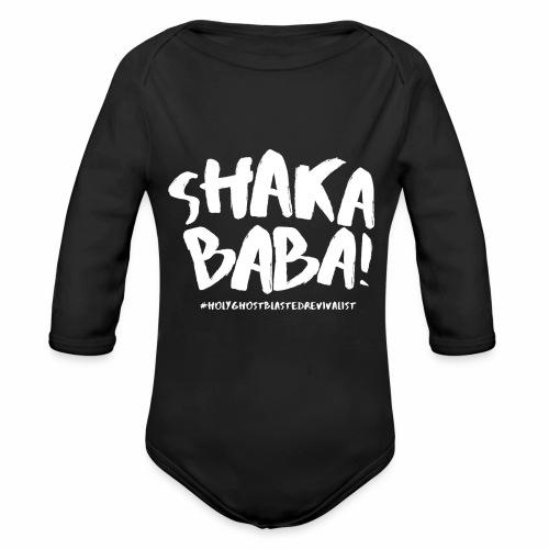 shaka - Vauvan pitkähihainen luomu-body
