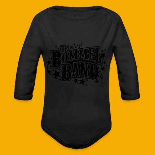 bb logo - Baby bio-rompertje met lange mouwen