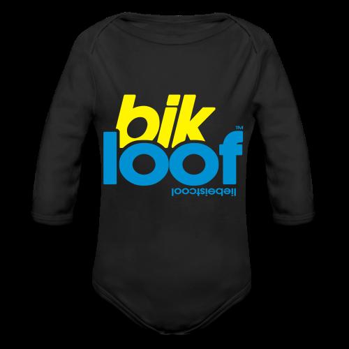bik loof - Baby Bio-Langarm-Body
