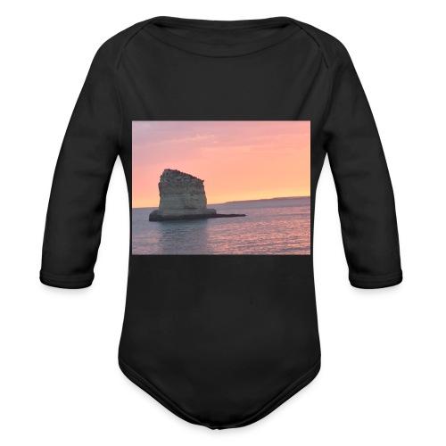 My rock - Organic Longsleeve Baby Bodysuit