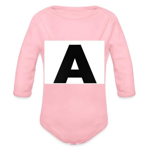 A-685FC343 4709 4F14 B1B0 D5C988344C3B - Langærmet babybody, økologisk bomuld