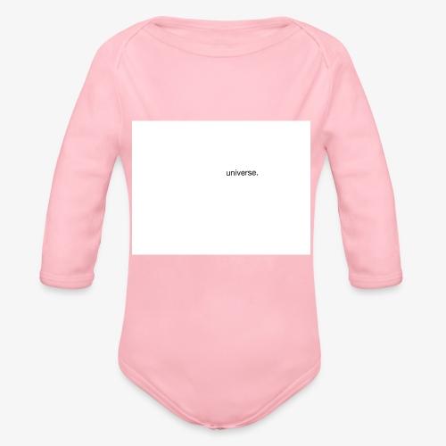 UNIVERSE BRAND SPONSOR - Body ecologico per neonato a manica lunga